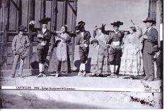 Grup de balladors i balladores que va anar a la boda del rei Alfons XIII