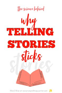 Why Telling Stories Sticks with Word Wise at Nonprofit Copywriter #ContentWriting #PersuasiveWriting #WritingTips Easy Writing, Blog Writing, Writing Tips, Blog Websites, Persuasive Writing, Copywriter, Brain Activities, Strategic Planning, How To Stay Awake
