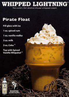 Pirate Float.   Minus this sounding amazing, that glassis fucking awesome.