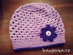 bandorka: Jarní háčkovaná čepička Crochet Hats, Beanie, Fashion, Knitting Hats, Moda, Fashion Styles, Beanies, Fashion Illustrations, Beret