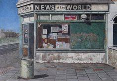Newsagents, Canning Town, 1991. By Doreen Fletcher / LONDON