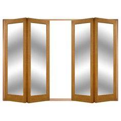 Image of Folding Doors, IFS-8AST2M Astbury 4 Door Set, Frame & Glass