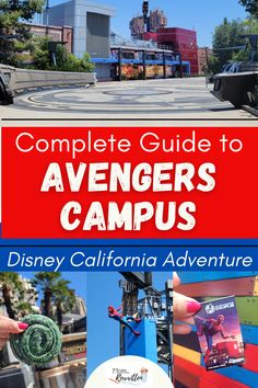 Avengers Campus, a new Marvel-themed Land opened to guests on June 4th, 2021 at Disney California Adventure park! Find out everything from someone who was there, including WEBSLINGERS Spider-Man attraction, brand new character experiences, mobile ordering and dining, shopping and more. Get the details on whether this area is kid-friendly and if you should catch up on all the Marvel movies to fully appreciate Avengers Campus. #Disneyland #DisneyTips #HeroesAssemble #AvengersCampus #Marvel Disney Travel, Usa Travel, Travel Tips, Disneyland Restaurants, Disneyland Resort, All Disney Parks, Disney Tips, Disney California Adventure Park, California Travel