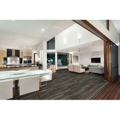 """American Concepts Morgan Hill 6"""" x 51"""" x 8mm Tile Laminate in Bisque Sandalwood"""