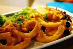 Choco frito, Fried cuttlefish from Setubal, Portugal