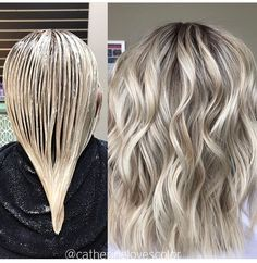 light ash blonde I just love this color.not sure hiw well I pull it off. light ash blonde I just love this color.not sure hiw well I pull it off. Ash Blonde Balayage, Ash Blonde Hair, Brunette Hair, Grey Blonde, Blonde Roots, Blonde Color, Platinum Blonde, Luxy Hair, Light Ash Blonde