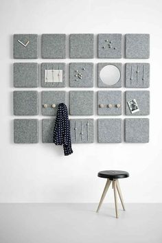 Felt Panel by Menu, maybe DIY prikbord, inboard, memo board