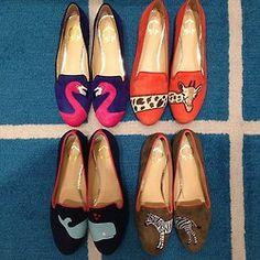 therealistadjuststhesails: sweetheartsigma: prepavenue: Eenie meenie miney mo (at www.prepavenue.com) I need these in my life i need the flamingo's stat