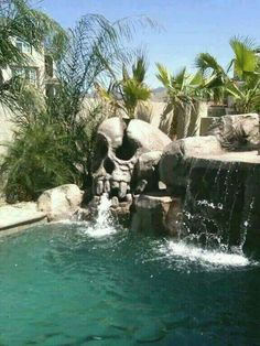 Having a pool sounds awesome especially if you are working with the best backyard pool landscaping ideas there is. How you design a proper backyard with a pool matters. Goth Home, Theme Halloween, Dream Pools, Gothic House, Cool Pools, Pool Designs, My Dream Home, Water Features, The Great Outdoors