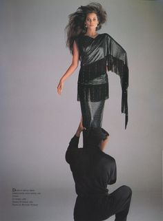 Versace SS 1987 by Richard Avedon