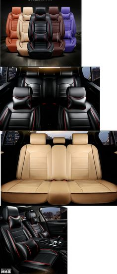 Luxury Cars: 2017 New Pu Leather Luxury Four Seasons General Car Seat -> BUY IT NOW ONLY: $116 on eBay!
