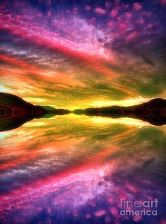 Summer Skies At Skaha Lake #Canada