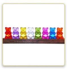gummy bear lights (I REALLY WANT THESE!) but i can not justify spending the amount of money they are, just for what they are