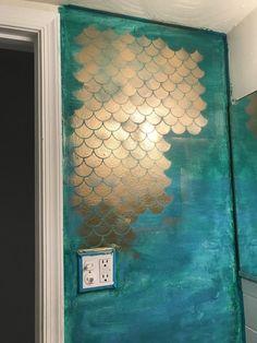 Mermaid bathroom by yours truly