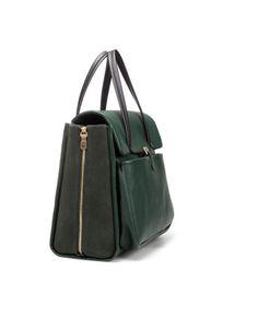 LARGE CITY BAG WITH ZIP - Handbags - Woman - ZARA United States