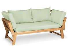 Outdoor Sofa, Outdoor Furniture, Outdoor Decor, Sofas, Lounge, Vintage Green, Exterior Design, Acacia, Love Seat