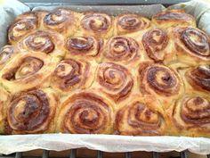 Buen finde – Rollos de canela, receta nórdica