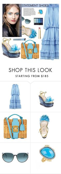 """""""Blue spring!"""" by joliedy ❤ liked on Polyvore featuring Miu Miu, Steven Alan, Freida Rothman, Spring, statementshoes, fashionset, polyvoreeditorial and polyvorefashion"""