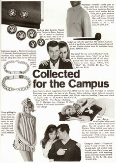 Sell Me Yesteryear: Playboy Accessories