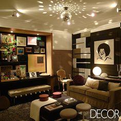 Designer de interiores, Moreno busca inspiração em viagens. Veja mais: http://www.revistadecor.com.br