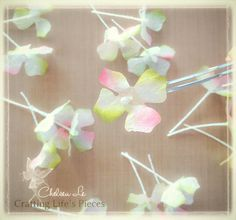 Crafting Life's Pieces: Hydrangea Tissue Paper Tutorial
