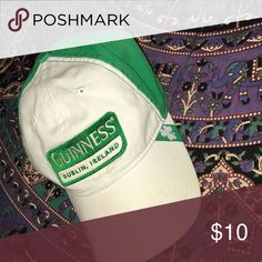 🍀 Guinness Cap 🍀 worn once. Accessories Hats
