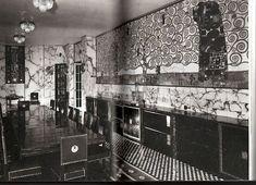 Palais Stocklet interior. Brussels. Josef Hoffmann 1905-1911