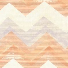Dear Stella House Designer - Mercer - Chevron in Melon