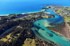 Aerial photos of the South Coast of New South Wales, Sapphire Coast Aerial Photography, Eurobodalla Aerial Phootgraphy, Shoalhaven Aerial Photography Aerial Photography, Landscape Photography, South Coast Nsw, Travel Bugs, Past, Surfing, River, South Wales, Gallery