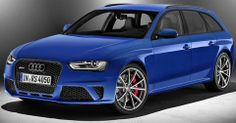 2014 Audi RS4 Avant Nogaro selection: 4.2 Liter V8 DOHC with 450 Horsepower. 0 to 60 mph in 4.7 seconds. Top Speed of 174 mph. Est. price $113,500.00