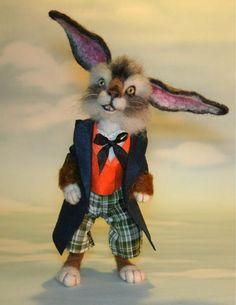 Resultado de imagen para conejo de marzo en el pais de las maravillas doll
