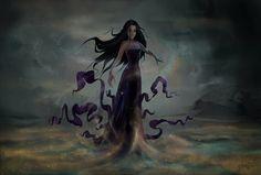 Eris - Goddess of Strife by Champalino on deviantART. Tags: eris, discordia,