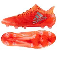 543edc4bf Adidas X 16.1 FG Soccer Cleats (Solar Red Metallic Silver)
