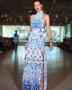 A model wears Lisa Ho during Mercedes-Benz Fashion Week Australia Spring/Summer 2013/14.
