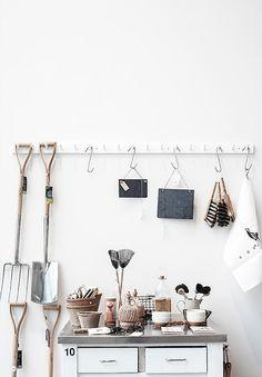 hanging kitchen storage