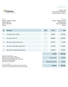 Free Invoice Templetes 33 Professional Grade Free Invoice Templates For Ms Word