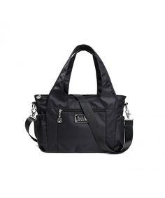 Nylon Women Top Handle Handbags Satchel Purse Tote Bag Shoulder Bag for Women - Black - CV186YN60QX  #Bags #Handbags #Totebags #gifts #Style
