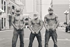 Shirtless cowboys sexy hot guys city shirtless fit chest muscles jeans hats cowboys