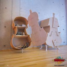 Stradi i Viola - szafki na książki