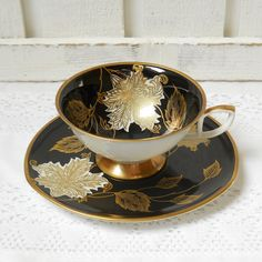 German Antique Tea Cups Saucers | vintage tea cup and saucer german porcelain tea cups teacup german ...