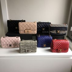 829dc87ac249 One Big Happy Family  Check Out Our PurseForum Members  Epic Chanel Family  Bag Portraits
