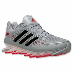 buy popular f43c2 7eebd Mens adidas Springblade Razor Running Shoes  FinishLine.com  Metallic  SilverBlack