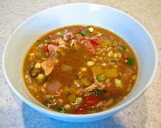 Smoky Chicken & Sausage Gumbo with Corn, Midwestern Spiced Life Style Chorizo, Soup Recipes, Cooking Recipes, Drink Recipes, Sausage Gumbo, Chicken Sausage, Meat Lovers, Soups And Stews, Spices