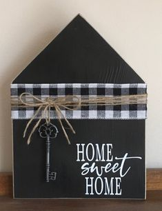 Home Sweet Home Shelf Sitter/Farmhouse Decor/Home Decor/Rustic Scrap Wood Crafts, Wood Block Crafts, Scrap Wood Projects, Wooden Crafts, Diy Projects To Try, Crafts To Make, Cute Crafts, Craft Projects, Diy Crafts