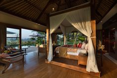 All the rooms have a blend of Asian and contemporary aesthetics when it comes to the overall style at KABA KABA ESTATE BALI  http://www.theluxurylisting.com/kaba-kaba-estate-bali/