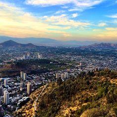 Santiago, Chile. Photo courtesy of travelerbynature on Instagram.