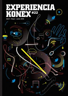 Cover illustration by Leandro Castelao for the KONEX cultural center magazine. Art Direction by Santiago Goria.