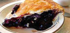 Blueberry Cannabis Pie