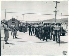 1943 Colorado Fort Carson World War II Prisoner Detention Camp.