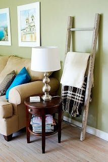 CONTROLLING Craziness: Blanket Storage,CONTROLLING Craziness: Blanket Storage Stylish Blanket Storage Ideas Among the easiest approaches to warm up an area is by adding textures. Decor, Home Diy, Blanket Storage, Home And Living, Apartment Living, Home Living Room, Room, Cute Living Room, Home Deco